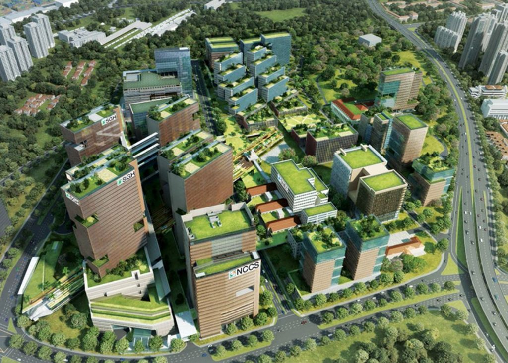 The landmark campus sgh master plan