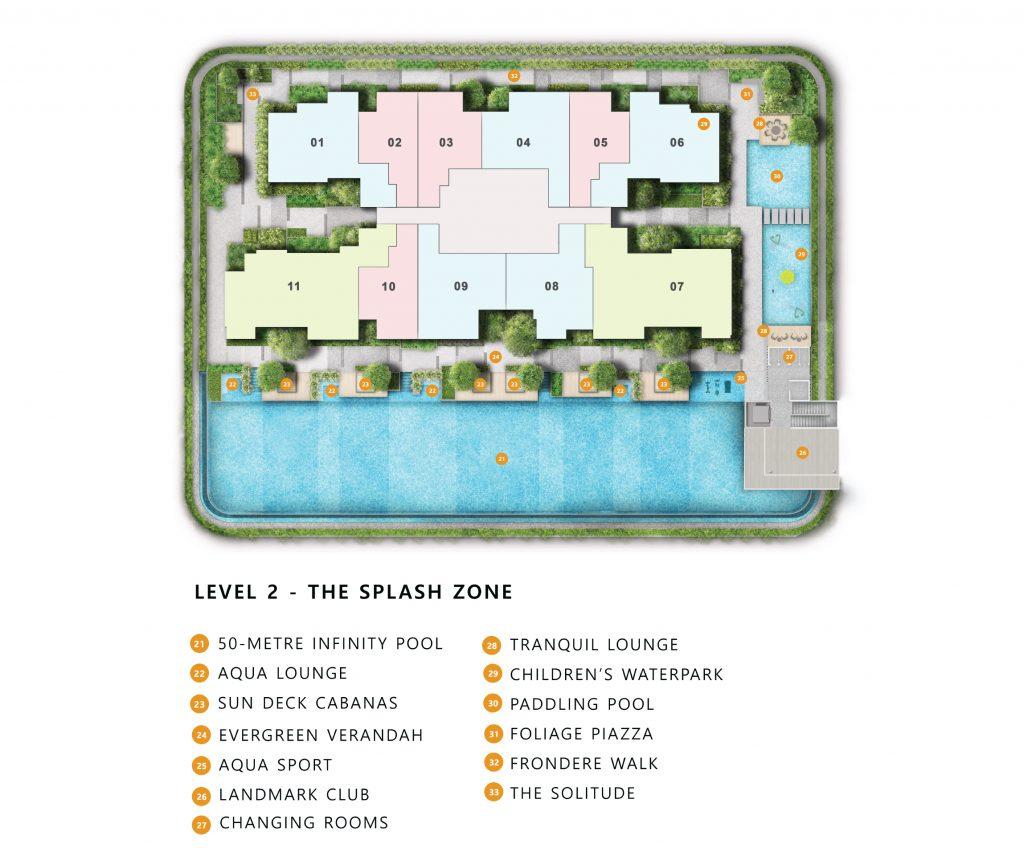 The landmark site plan level 2