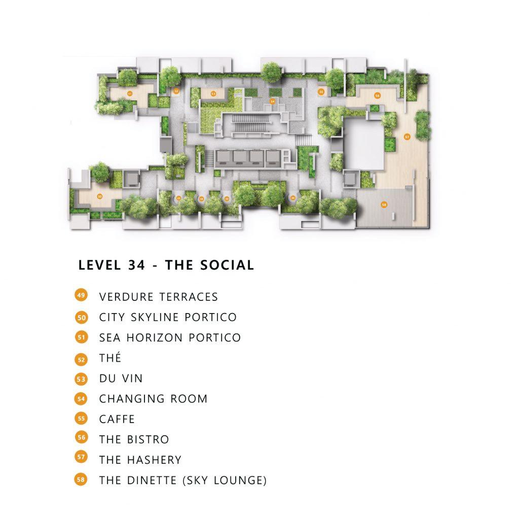 The landmark site plan level 34