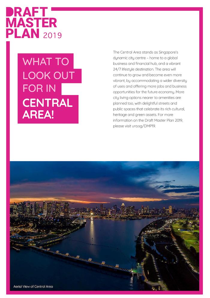 the landmark condo chin swee road ura master plan singapore